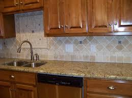 Backsplash With Venetian Gold Granite - kitchen captivating ceramic tile kitchen backsplash kitchen