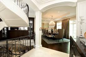 Dining Room Columns Shaker Paneled Opening In Dining Room In A House Markham