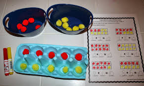 Types Of Sheets More Fun With Ten Frames Plus A Freebie Differentiation Station