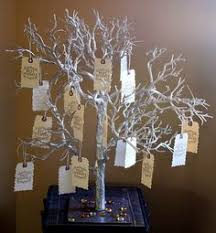 birthday wish tree as guests entered the reception space they a large