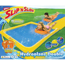 amazon com wham o slip n slide hydroplane double with 2 slide