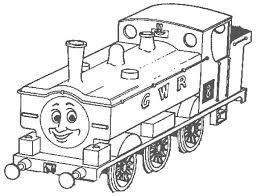 95 spencer gordon halloween thomas train coloring pages