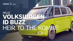 volkswagen i d buzz driving the electric vw camper in california