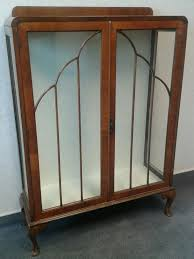 Art Cabinets Lovely Antique Art Deco Cabinet 1920s 1930s 1940s Glass Display