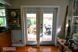 Sliding Patio Screen Door Kit Installing Screen Doors On French Doors Easy And Cheap Funky