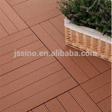 Plastic Bathroom Flooring by 300x300mm Wood Plastic Composite Non Slip Bathroom Tile Floor Tile