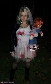 Bride Halloween Costume Shareig U0026 Chucky U2026 Halloween Chucky