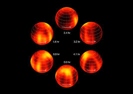 Eso Maps Weather Map Of Brown Dwarf