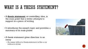 weak thesis statement writing an effective thesis statement a thesis statement or writing an effective thesis statement 2