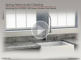 Remove Kitchen Sink Faucet Instructional Video Spring Removal On The Sous Kitchen Sink Faucet