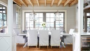 Beach Dining Room Sets by Abington Muskoka Living Interiors Muskoka Ontario Dining Area