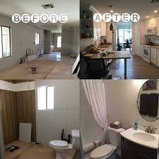 Bathroom Before And After by Before And After Orange County Mobile Home Remodeling Contractor