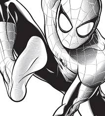 spiderman coloring large spiderman coloring picture