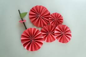 how to make paper fans paper fan apple think crafts by createforless