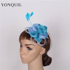 small fascinators for hair 19 colors small fascinators hats wedding party headpiece