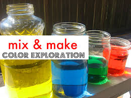 color mixing color mixing learning colors and activities
