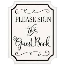 wedding guest book sign wedding guest book and pen set wayfair