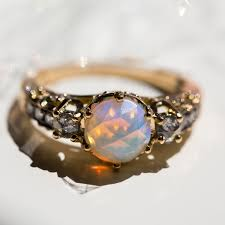 turquoise opal engagement rings maniamania designers catbird