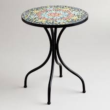Patio Accent Table Top Outdoor Accent Table Beautiful Metal Outdoor End Tables Patio