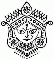 drawings pencil drawings of goddess durga u0026 ganesha durga2 gif