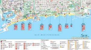 Chicago Attractions Map Barcelona Maps Top Tourist Attractions Free Printable City