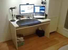 Mouse Platform Under Desk Diy Keyboard Tray For Ikea Besta Desk Renovate Australia