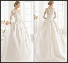 wedding dress with pockets white mikado gown wedding dresses kr 2016 sheer scoop