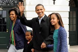 Obama First Family by Bam And Michelle U0027s Marriage Went Through Frosty Period Says New