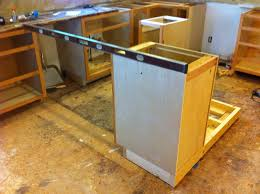 how to install a kitchen island kitchen island install j fed