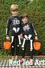 Halloween Costume Skeleton Minute Halloween Costumes Paper Skeleton