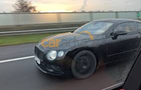 bentley continental 2017 2017 bentley continental gt spied testing photos 1 of 5
