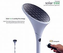cool concept portable solar tree 5 pics solar