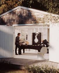 peters billiards method new york beach style garage and shed
