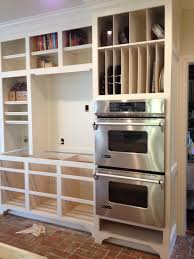 Kitchen Cabinet Appliance Garage by Eleven Gables Hidden Appliance Cabinet And Desk Command Center In