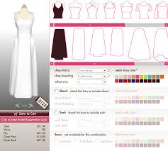 design my own wedding dress design your own dress aylee bits