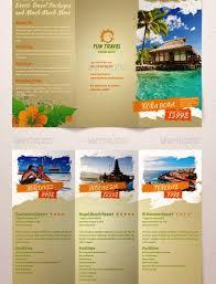 contoh desain brosur hotel 25 contoh desain brosur tour travel terbaik inspiratif idea