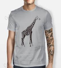 giraffe tshirt mens womens t shirt tee cool swag top hipster skate
