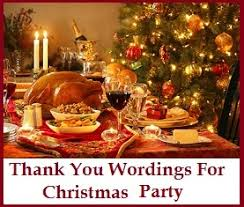 Christmas Party Host - christmas thank you messages christmas party thanks
