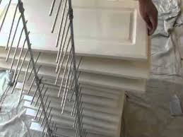 paint drying rack for cabinet doors door rack painting system regular doors cabinets youtube