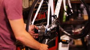 how to replace a back bike wheel howcast the best how to