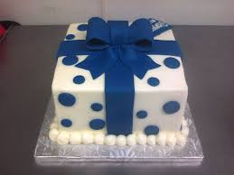 blue and brown baby shower main made custom cakes