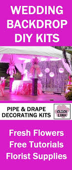 professional wedding backdrop kit 80 best wedding backdrops images on wedding backdrops