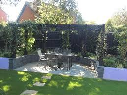 shallow garden small shallow contemporary garden design in