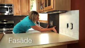Painted Backsplash Ideas Kitchen What U0027s Fasade Backsplash Ideas Youtube