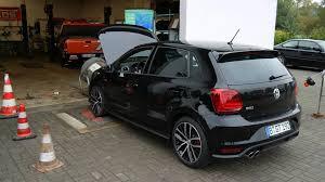 volkswagen polo 2016 black vw polo 6c gti dsg my2016 leistungsprüfstand prüfstandslauf