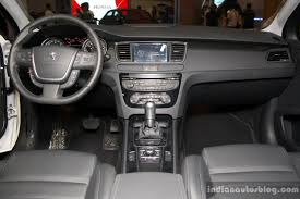 peugeot car interior peugeot 508 interior at the philippines motor show 2014 indian