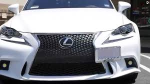 lexus is new generation new improved license plate tow bar design exclusive for 3rd gen