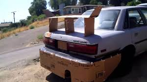 ricer car cardboard ricer youtube