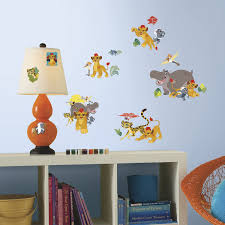 Disney Bedroom Wall Stickers Roommates Rmk3174scs Lion Guard Peel And Stick Wall Decals