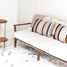 Lumbar Pillows For Sofa by Decorative Lumbar Pillow Ombre Striped Design U2013 The Citizenry